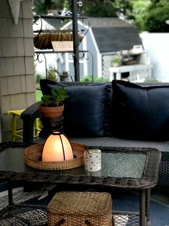 How to Make a repurposed DIY Candle Lantern