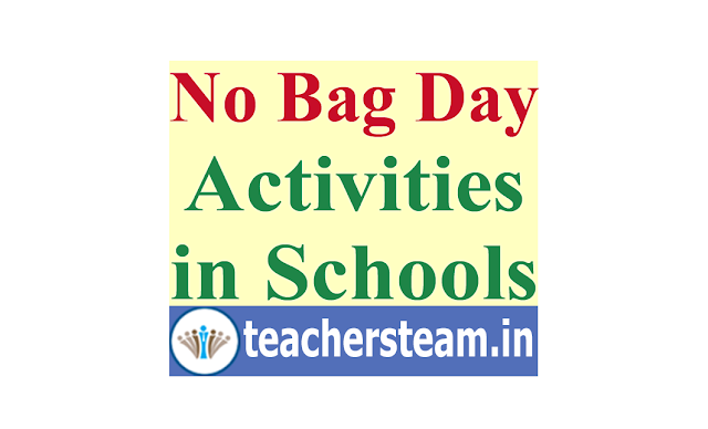No Bag Day in AP schools