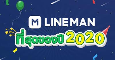 """LINE MAN เผยสถิติ """"ที่สุดแห่งปี 2020""""   """"ไก่ทอด"""" ยืนหนึ่งเมนูโปรดคนไทยยุคโควิด สั่งเดลิเวอรี่ทั้งปี 5.3 ล้านชิ้น!"""