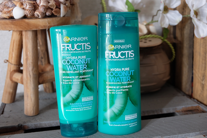 La gamme Fructis Coconut Water de chez Garnier