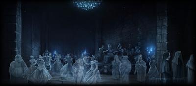 Harry Potter e la Camera dei Segreti: La festa di Nick-Quasi-Senza-Testa