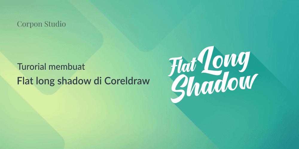 Tutorial Flat Long Shadow Di CorelDRAW