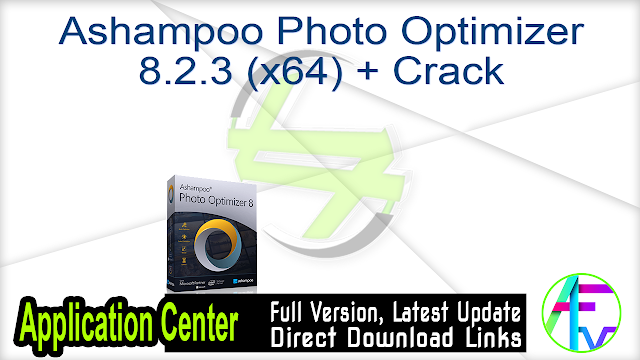 Ashampoo Photo Optimizer 8.2.3 (x64) + Crack