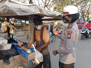 Dua Hari Penling, Satlantas Polres Gowa Harap Masyarakat Patuhi Prokes dan Tertib Berlalu Lintas