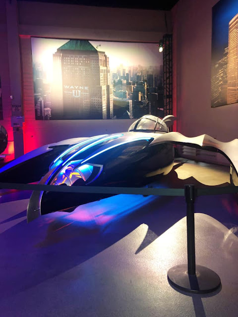 Exposition Batman Studios Warner Bros Los Angeles