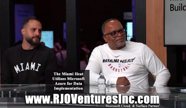 Matthew Jafarian -  Edson Crevecoeur - Miami Heat - Microsoft - RJO Ventures Inc