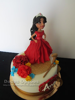 bolos princesas festas aniversáio bragança