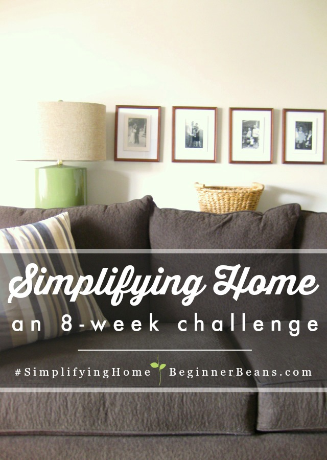 Simplifying Home: An 8-Week Challenge