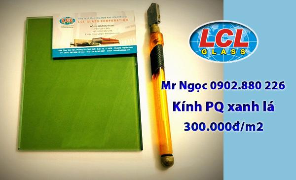 Kính Phản Quang xanh lá LCl Glass