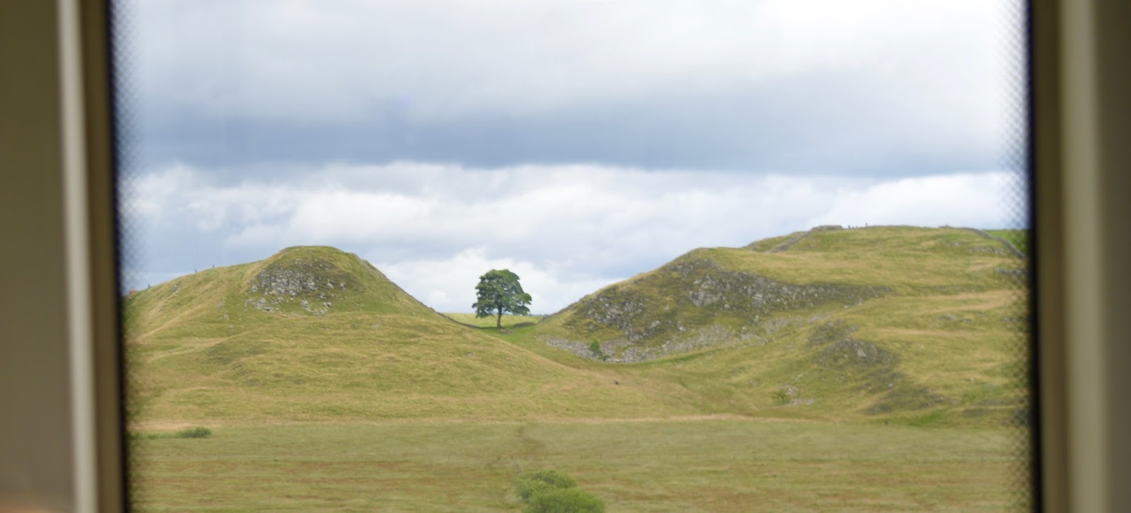 Exploring Hadrian's Wall by Bus with Go North East AD122 - Sycamore gap
