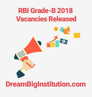 RBI Grade B 2018 Notification Out: RBI Grade B Recruitment Apply Now