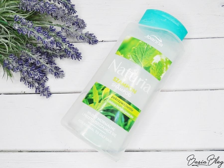 Joanna Naturia pokrzywa zielona herbata szampon