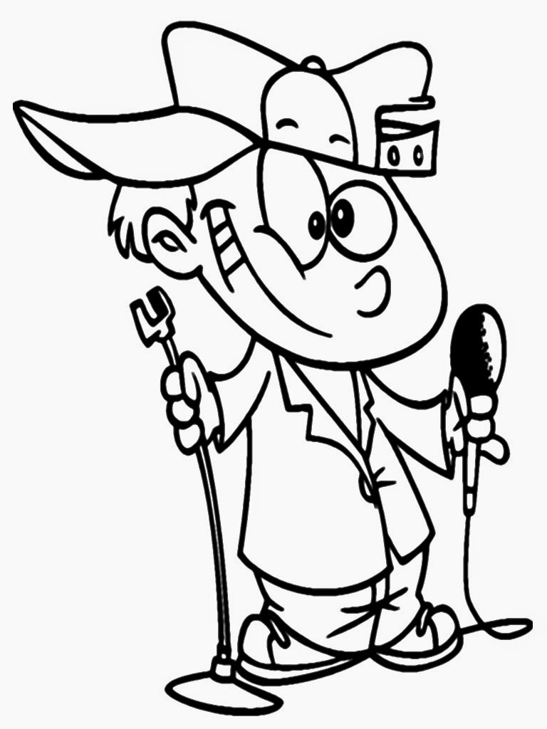Robin Williams Coloring Pages Sketch Coloring Page