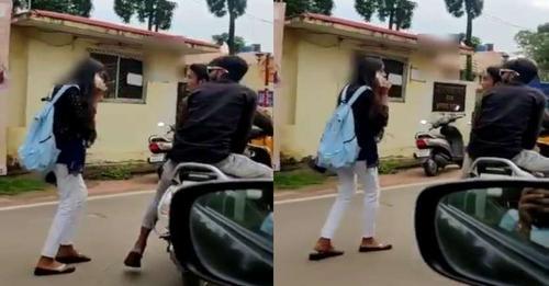 दो मनचलों ने युवती के साथ की छेड़खानी, कारवाले ने बनाया वीडियो और कर दिया वायरल फिर जो हुआ