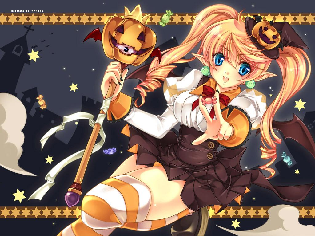 anime halloween girl - photo #5
