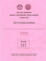 Download Lengkap Soal Dan Kunci Jawaban Sbmptn 2013