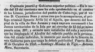 Cayetano Sosa - Gaceta de Puerto Rico