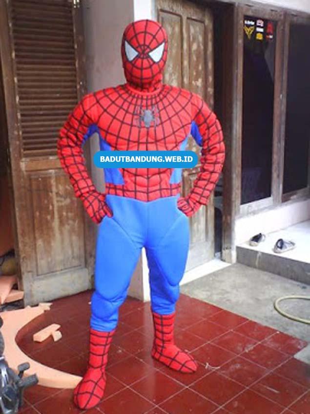 Badut Spiderman Laba Laba