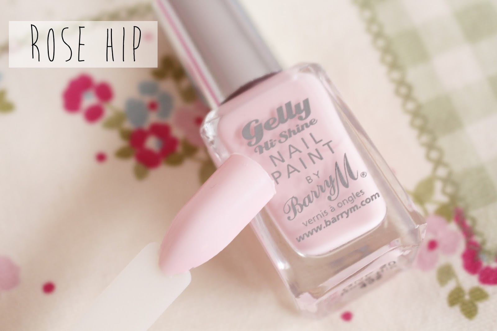 Barry M Gelly Nail Paint Spring Rose Hip