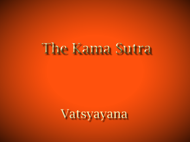 The Kama Sutra (1925) , PDF  by Vatsyayana with Illustrations