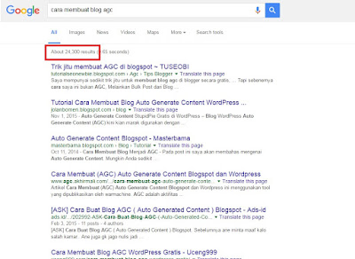 Apakah Blog AGC (Auto Generate Content) Itu Merugikan?