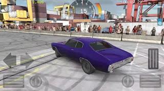 Torque Burnout Mod Blue Car