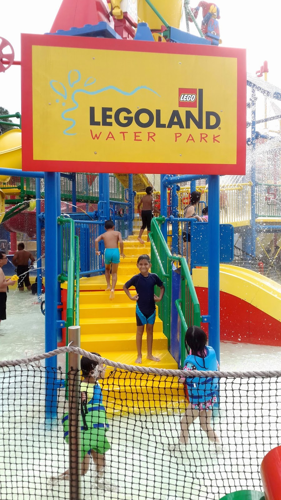 Our Trip To Legoland Malaysia Waterpark The Chill Mom Tiket Johor Bahru Theme Park Dan Water Meanwhile My 7 Years Old Nephew Rohan And 9 Niece Mithraa Were Having A Blast At Joker Soaker It Is Basically Massive Playground For