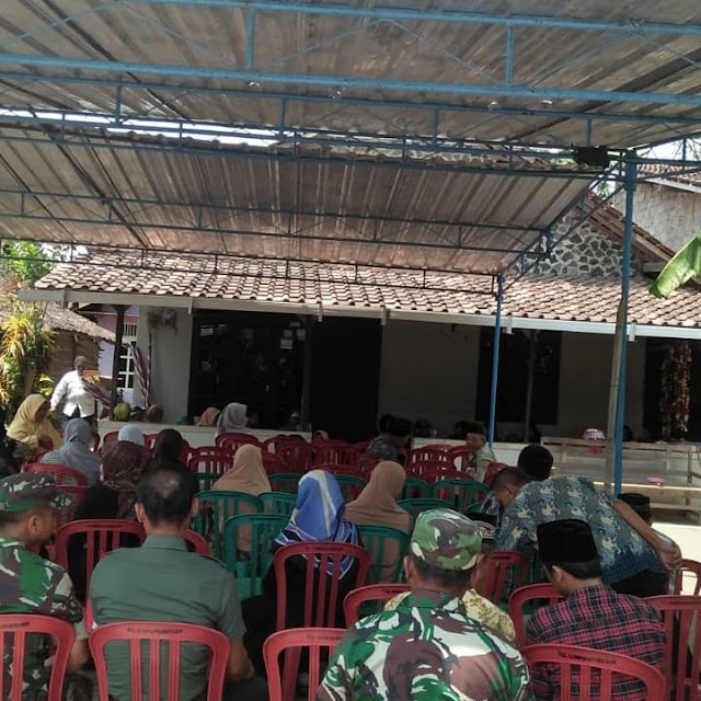 Wujud Kedekatan TNI Bersama Masyarakat Babinsa Hadir Taziah