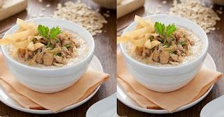 Bubur Oats Ayam Oriental