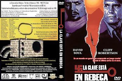 Carátula dvd: La clave está en Rebeca