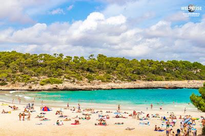 Cala S'Amarador beach on Mallorca