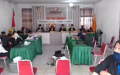 Sidang Gugatan Sengketa Pilwakot Bandarlampung Hari IV, KPUD Tidak Bisa Menghadirkan Saksi
