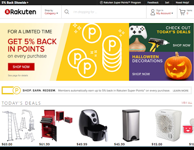 Rakuten.com offers a broad selection of products to discover and purchase