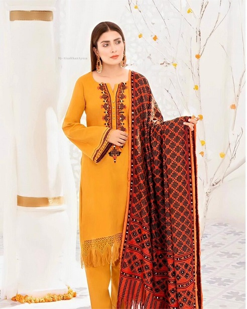 Ayeza Khan New One Photoshoot For Winter Collection 4