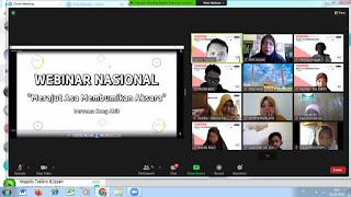 FLP JATIM RAYAKAN MILAD KE-24 FLP DENGAN MENGADAKAN WEBINAR NASIONAL