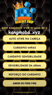 APK MOD Regedit Kingshot VVIP (Auto Headshot) Free Fire