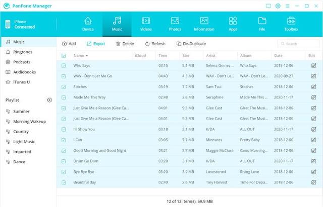 PanFone Mobile Manager Descargar