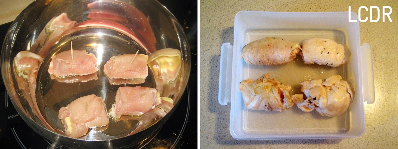 Receta de rollitos de pollo 02