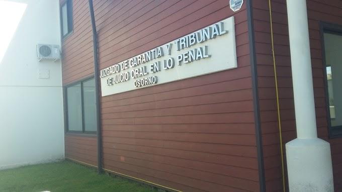 Juzgado de Garantía de Osorno realiza alrededor de 400 audiencias semanales en periodo de cuarentena
