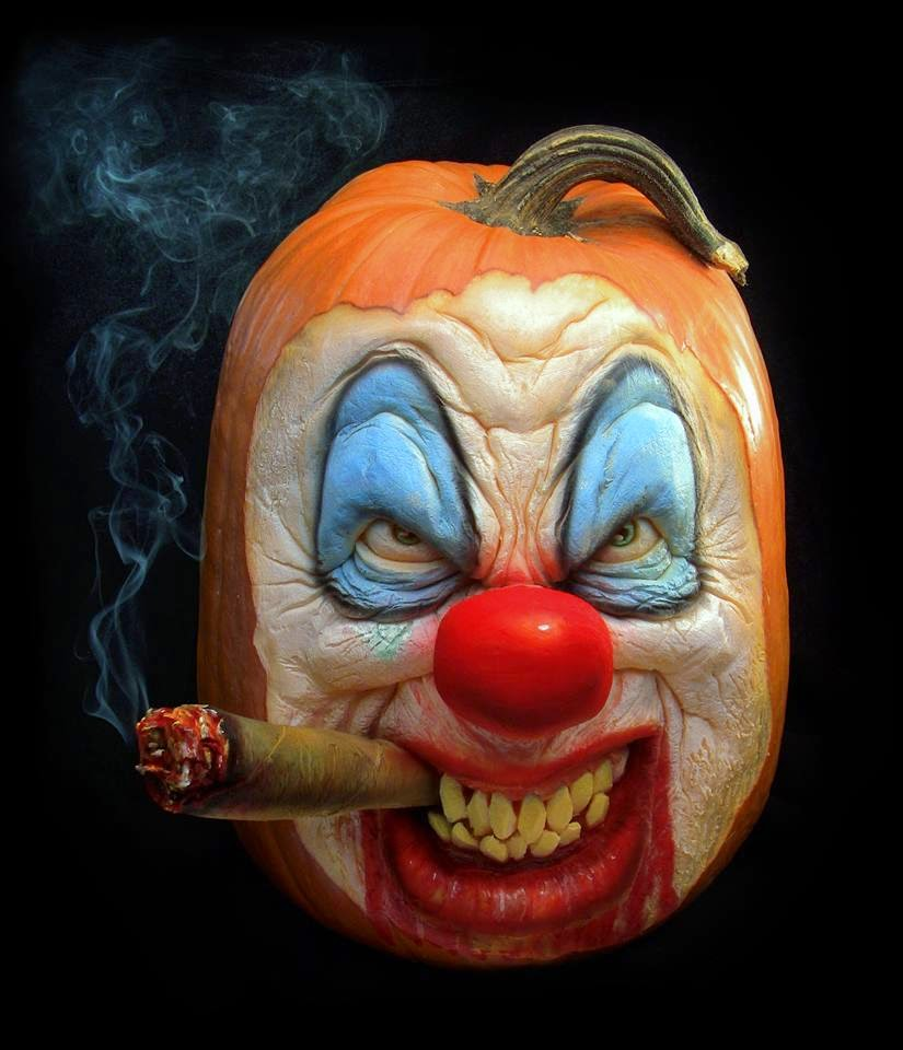 Clown Pumpkin