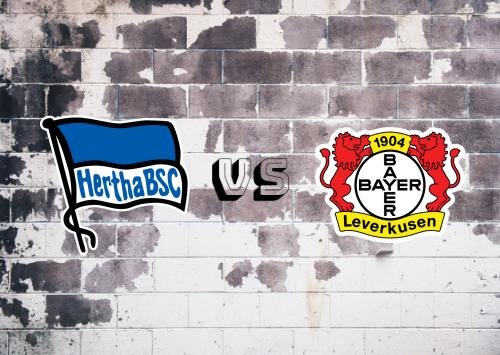 Hertha BSC vs Bayer Leverkusen  Resumen