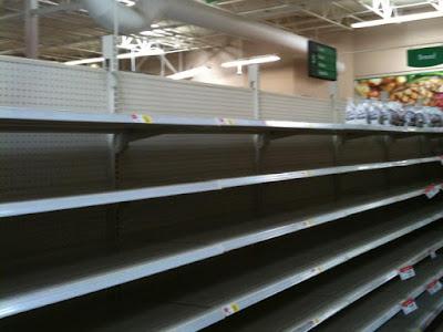 Shelves At Walmart A Very Beautiful