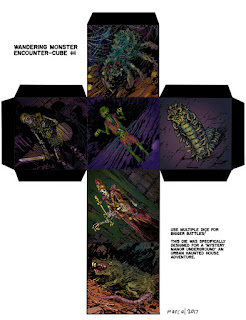 http://dungeonuniverse.blogspot.com/2017/01/wandering-monster-encounter-cube-1.html