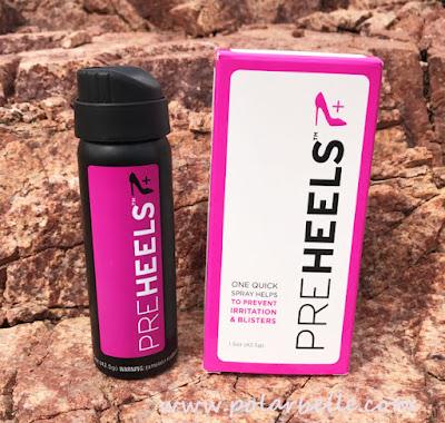 flexible friction blister barrier feet spray