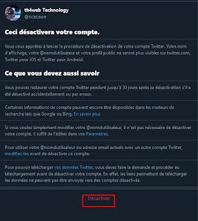 كيفية حذف حساب تويتر للأبد؟