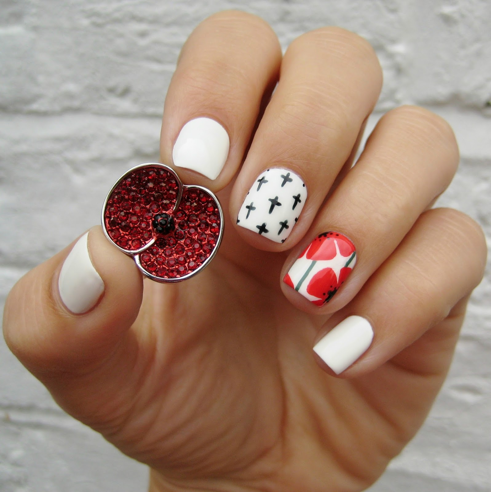 Dahlia Nails: The Poppy Collection
