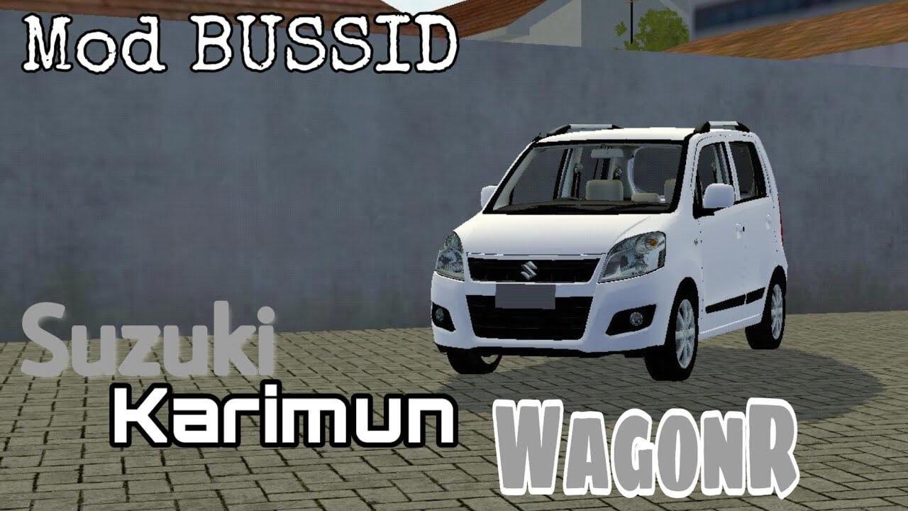 Mod Bussid Suzuki Karimun Wagon R