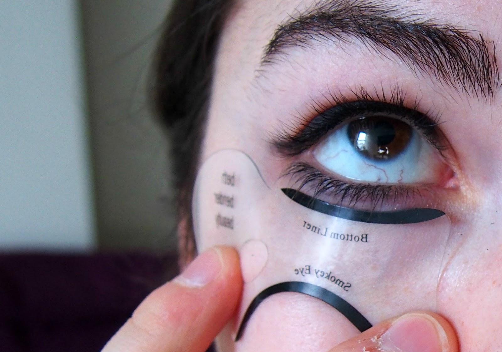 bottom eyeliner stencil