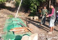 Datangi Lurah, Warga Rt 09 Sapaga Keluhkan Bau Tak Sedap dari Fasum Septic Tank