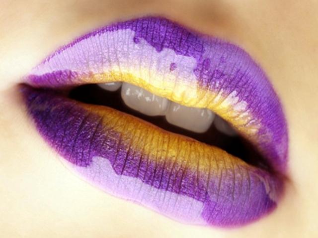 Labios Degradados o Bicolor